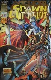 Medieval Spawn / Witchblade #1 ETM Exclusive Gold Foil
