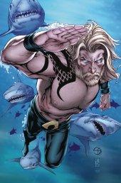 Aquaman #54 Shane Davis, Michelle Delecki Card Stock Variant