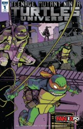 Teenage Mutant Ninja Turtles: Universe #1 Fan Expo Exclusive Variant Cover