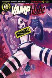 Vampblade: Season 4 #8 Cover D Chimisso Risque