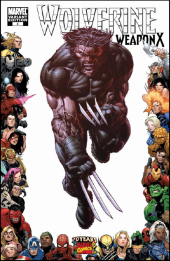 Wolverine: Weapon X #4 70th Frame Finch Variant
