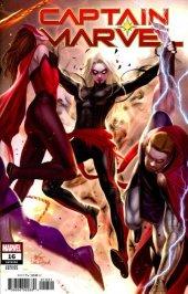 Captain Marvel #16 Inhyuk Lee Connecting Variant
