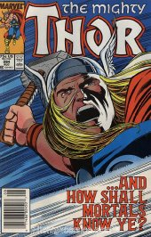 The Mighty Thor #394 Newsstand Edition