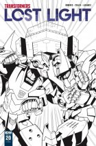Transformers: Lost Light #20 RI Cover Lawrence