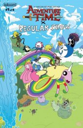 Adventure Time / Regular Show #1 Cover B 50/50