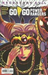 Go Go Power Rangers #28 Original Cover
