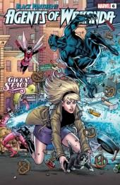 Black Panther and the Agents of Wakanda #6 Todd Nauck Gwen Stacy Variant