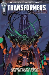 Transformers: Galaxies #1 1:10 Incentive Variant