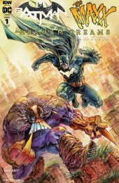 Batman / The Maxx: Arkham Dreams #1 Albert Moy Tony Lee Variant Cover