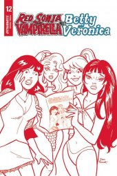 Red Sonja & Vampirella Meet Betty & Veronica #12 1:15 Incentive