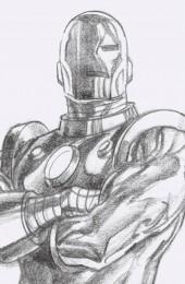 Iron Man #1 1:100 Alex Ross Timeless Virgin Sketch Variant