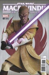 Star Wars: Jedi of the Republic - Mace Windu #1 TCW Variant