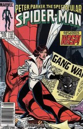 The Spectacular Spider-Man #105 Newsstand Edition