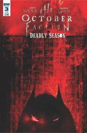 The October Faction: Deadly Season #3 Subscription Variant