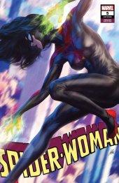 Spider-Woman #5 Artgerm Black Costume Variant