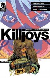 The True Lives of the Fabulous Killjoys #1 Gabriel Ba Cover