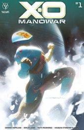 X-O Manowar #1 Cover B Dekal