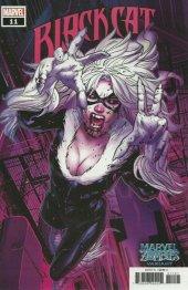 Black Cat #11 Land Marvel Zombies Variant