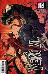 Venom #25 3rd Printing Bagley Variant