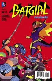 Batgirl #36 Original Cover
