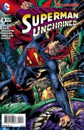 Superman Unchained #9 Bryan Hitch Variant