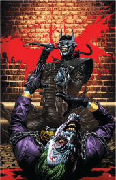 The Batman Who Laughs #2 Unknown Comics Exclusive Mico Suayan Variant C