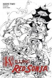 Killing Red Sonja #2 1:7 Incentive