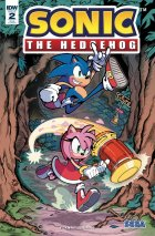 Sonic the Hedgehog #2 1:25 Incentive Variant