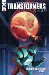 Transformers: Galaxies #7 1:10 Incentive Variant