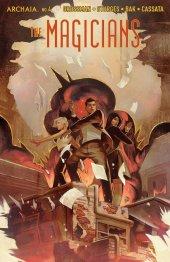 Magicians #4 Original Cover