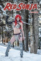 Red Sonja #17 Cover E Cosplay