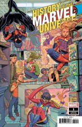 History of Marvel Universe #1 1:100 Buscema Hidden Gem Variant