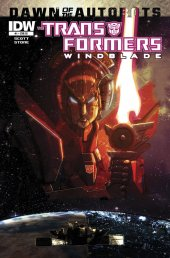 The Transformers: Windblade #1 Cover RI