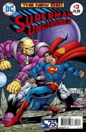 Superman Unchained #3 75th Anniversary Bronze Age Cover