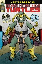 Teenage Mutant Ninja Turtles: Jennika #1 Cover RE Game Changer