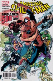 the amazing spider-man #500