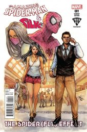 The Amazing Spider-Man and Silk: The Spider(fly) Effect #1 Siya Oum Variant