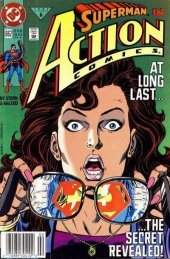 Action Comics #662 Newsstand Edition