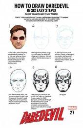 Daredevil #27 Chip Zdarsky How To Draw Variant