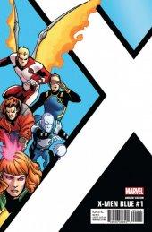 X-Men: Blue #1 Kirk Corner Box Variant