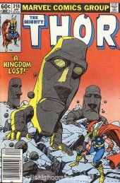 The Mighty Thor #318 Newsstand Edition