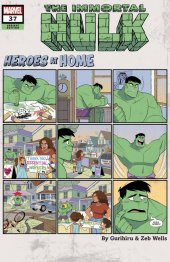 The Immortal Hulk #37 Gurihiru Heroes at Home Variant
