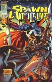 Medieval Spawn / Witchblade #1 Platinum Cover