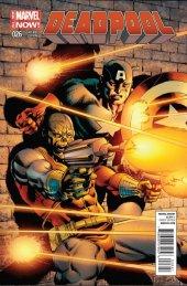 Deadpool #26 Captain America Variant