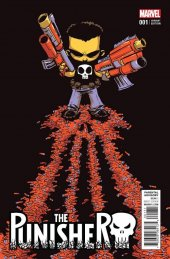 The Punisher #1 Young Variant