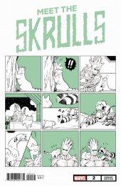 Meet the Skrulls #2 Nao Fuji Marvel Meow Variant