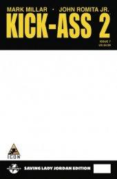 Kick-Ass 2 #7 Blank Comic Oasis Variant