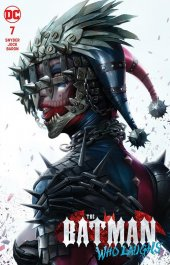 Batman Who Laughs #7 Variant Edition by David Finch EB49