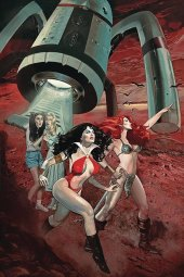 Red Sonja & Vampirella Meet Betty & Veronica #8 Dalton Ltd Virgin Cover