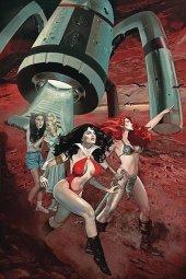 Red Sonja & Vampirella Meet Betty & Veronica #8 Dalton Ltd Virgin Cover